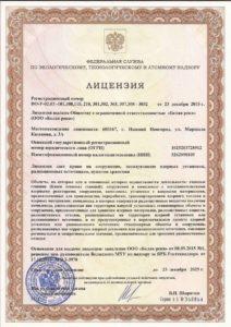 Лицензия на техническое обследование блоков атомных станций