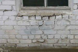 разрушение кирпича - строительная экспертиза