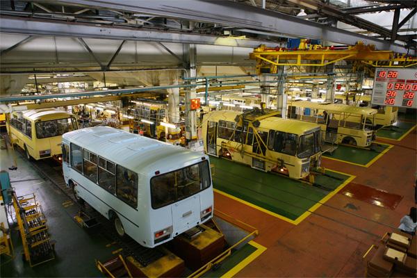 Обследование конструкций завода ПАЗ
