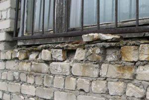 Обследование цеха завода ПАЗ разрушение кирпичной кладки