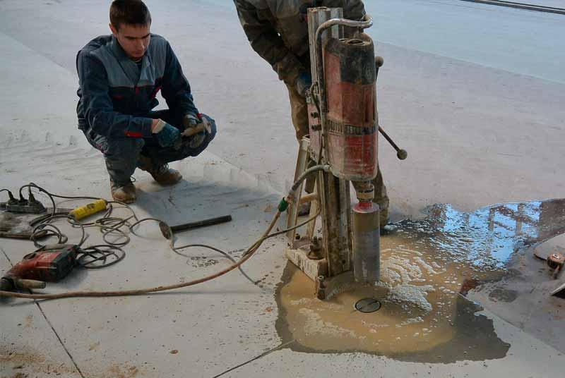 методика проведения технической экспертизы бетонных полов